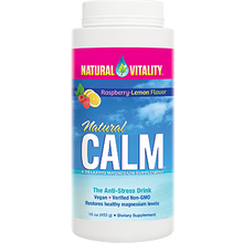 Natural Calm Raspberry-Lemon | Natural Vitality