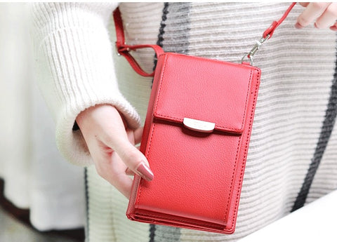 Crossbody Phone Purse with Built-in Wallet