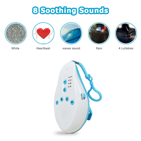 Baby Soothing White Noise Sound Machine with Voice Censor
