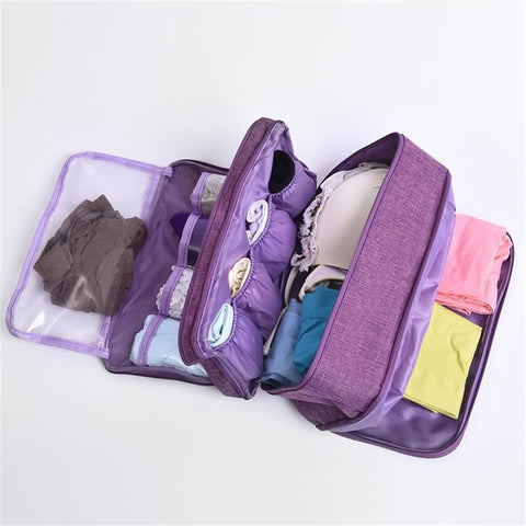 ravel Storage Lingerie Organizer Pouch Bag allows you to keep your underwear clean and organize.