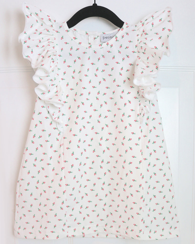 Lyss Cute Floral Dress by top Childrens French Fashion Boutique, PetiBisou