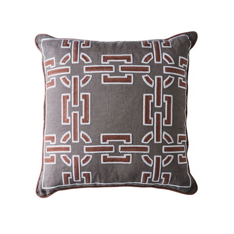 Monte Carlo Grey Cushion
