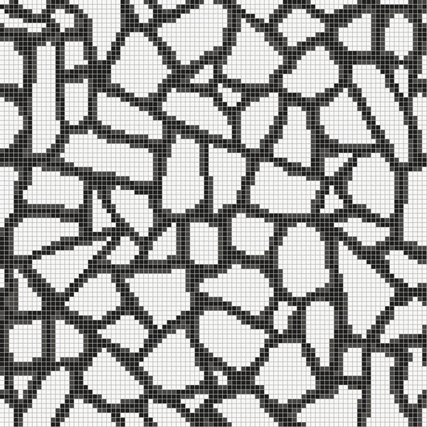 Fragment Mosaic Black
