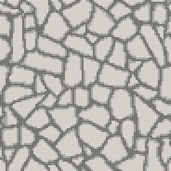 Fragment Mosaic Grey