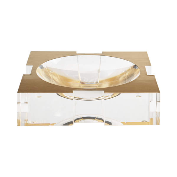 Carter Acrylic Bowl Brushed Gold