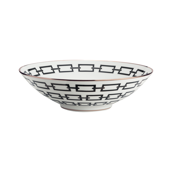 Gio Ponti Chains Salad Bowl Black