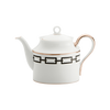Gio Ponti Chains Teapot Black