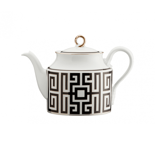 Gio Ponti Labyrinth Teapot Black