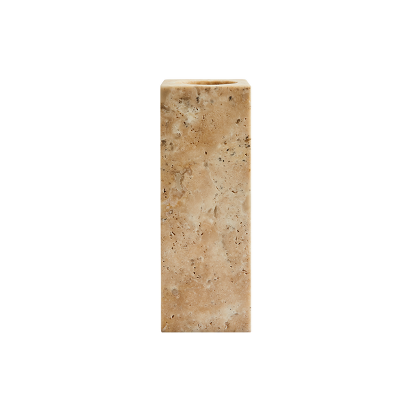Mies Vase Travertine Small