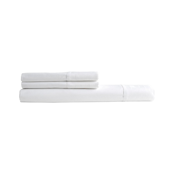 Jacquard Sheet Set White