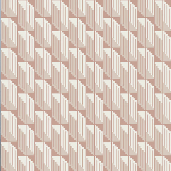 Scala Wallpaper White Duck & Portrait Pink