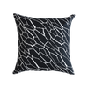 Shatter Cushion Black & White