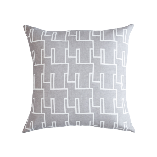 Diane Cushion Grey & White Cushion