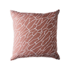 Shatter Cushion Dusty Pink