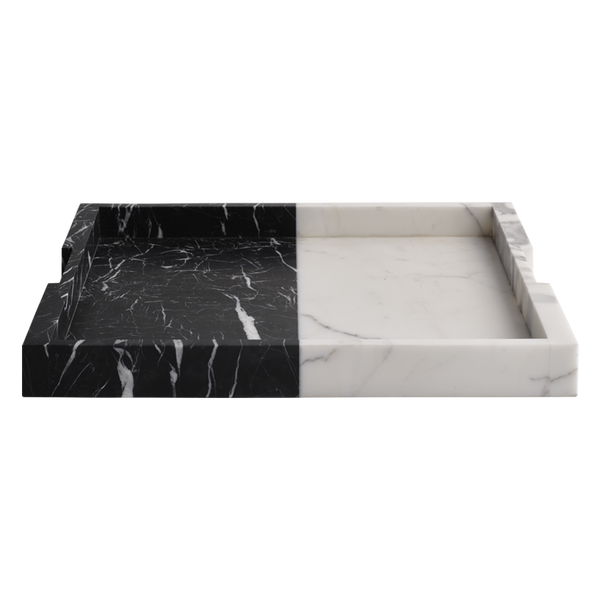 Polar Carter Tray Nero & Bianco Large