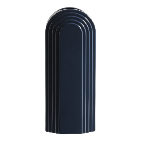 Avalon Ceramic Vase Navy