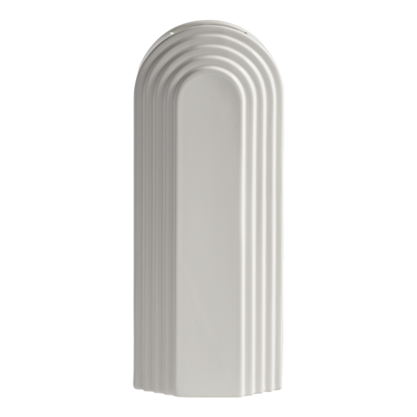 Avalon Ceramic Vase White