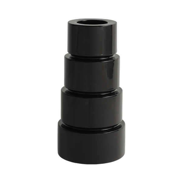 Devo Ceramic Vase Black