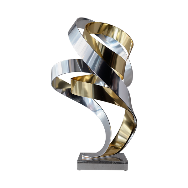 'Brian's Song' Sculpture Silver & Gold