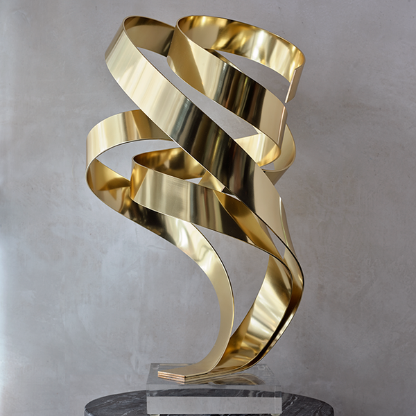 'Brian's Song' Sculpture Gold