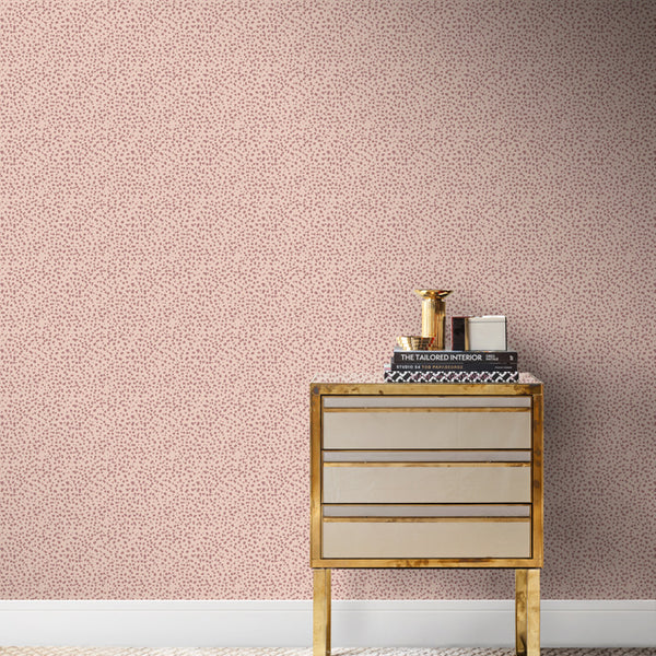Aquarius Wallpaper Pink Moroccan