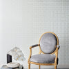 Astoria Wallpaper White Pearl