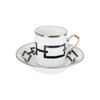 Gio Ponti Chains Espresso Cup Black