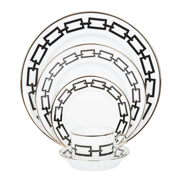 Gio Ponti Chains Soup Bowl Black