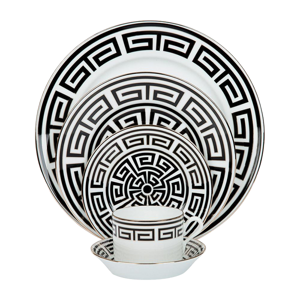 Gio Ponti Labyrinth Salad Bowl Black