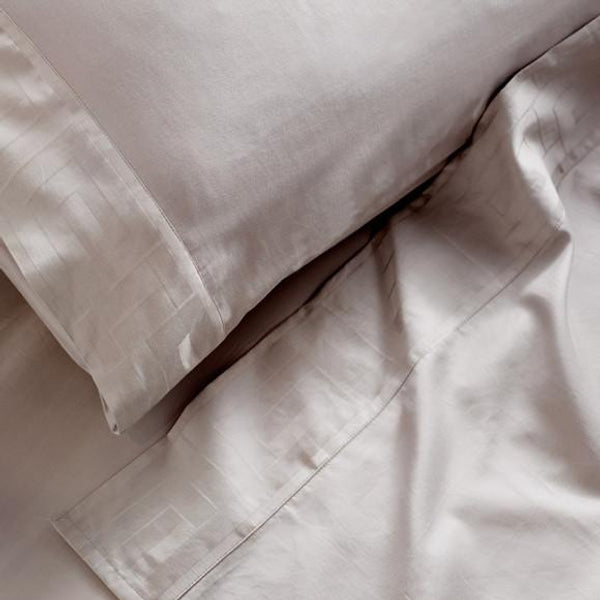 Jacquard Sheet Set Oyster
