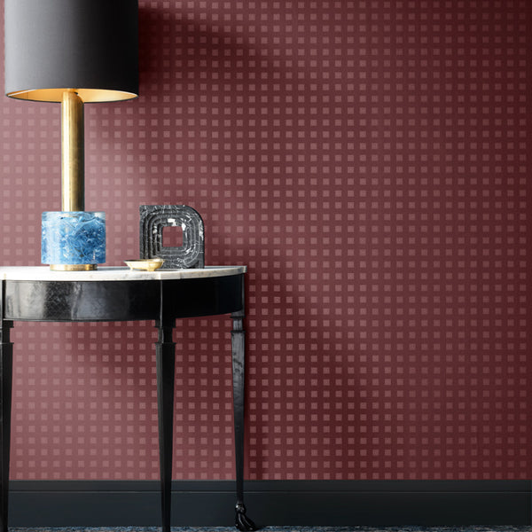 Hellenica Wallpaper Wine Pearl