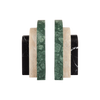 Palazzo Bookends Foresta, Travertine & Nero