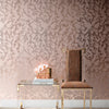 Stucco Wallpaper Blush Pearl on Rose