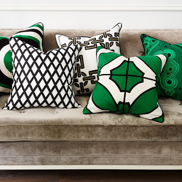 Malachite Cushion Green