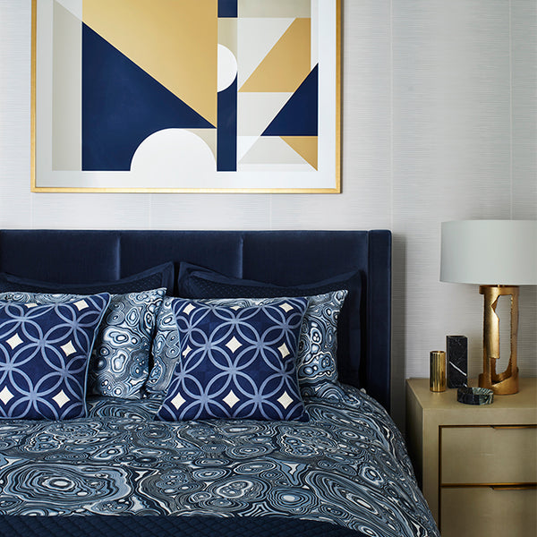 Palm Springs Cushion Navy