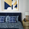 Malachite Quilt Cover Set Navy