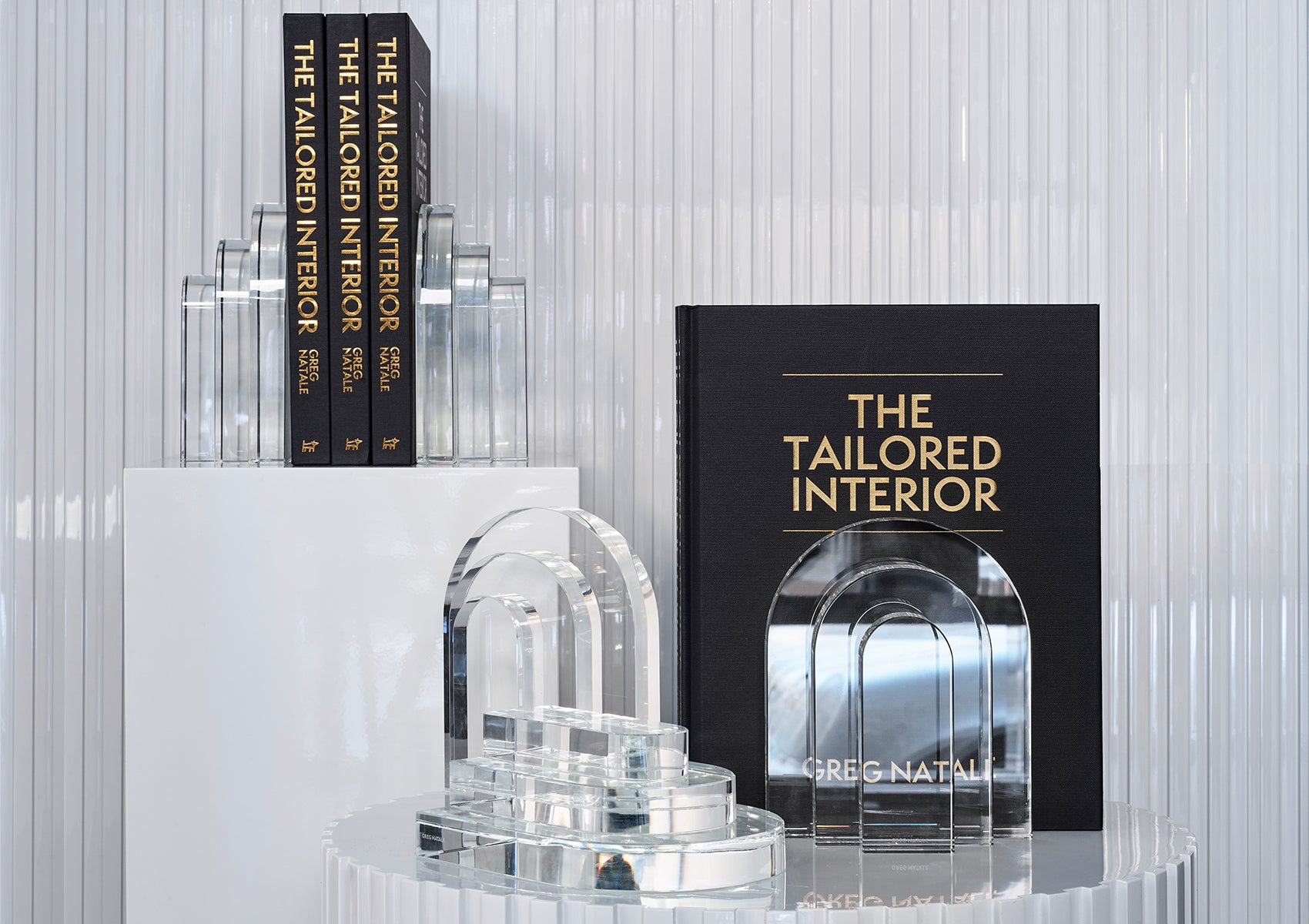 PALAZZO CRYSTAL BOOKENDS
