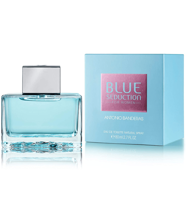 Fragancias Antonio Banderas Antonio Banderas Blue Seduction For Women EDT 80ml Spray
