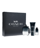 Estuche Coach Man (EDT 100ml, Travel Spray 9ml, Shower Gel 100ml)