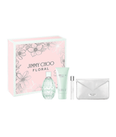 Estuche Jimmy Choo Floral (EDT 100ml, Travel Spray 7.4ml, Body Lotion 100ml, Pouch)