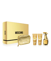 Estuche Moschino Gold Fresh Couture (EDP 100ml, Body Lotion 100ml, Shower Gel 100ml)