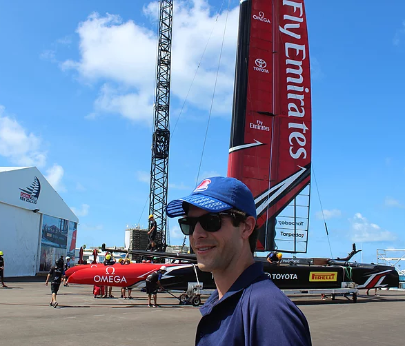 Boat Brim Launched at the 2017 America's Cup
