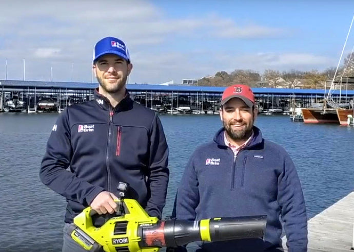 Boat Brim Presents: The Leaf Blower Challenge (Video)