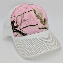 Camo Pink and White Trucker Hat
