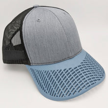 Charcoal Grey and Dusk Blue Trucker Hat