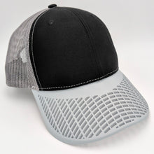 Boat Brim Black and Grey Trucker Hat