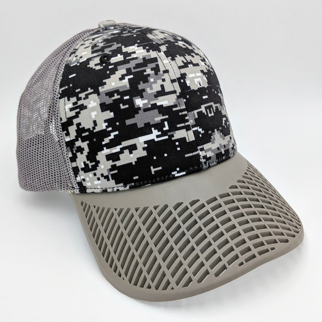 Digital Camo Trucker Hat