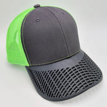 Boat Brim Green Mesh Trucker Hat