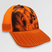 Kryptek Orange Camo Hunter Trucker Hat