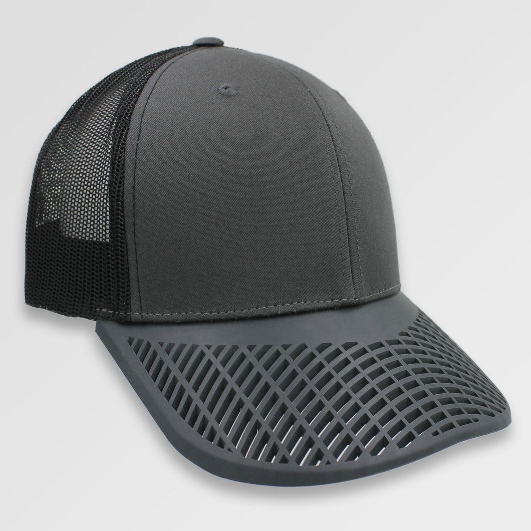 Johnny Cash Charcoal and Black Trucker Hat